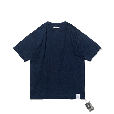 INDIGO YARN T-SHIRT